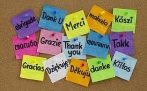 gracias - idiomas