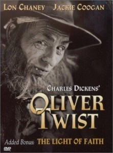 Oliver Twist film cover