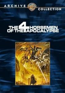 Los cuatro jinetes del Apocalipsis cover