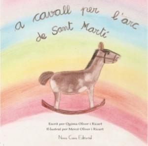 A cavall per l'arc de Sant Martí